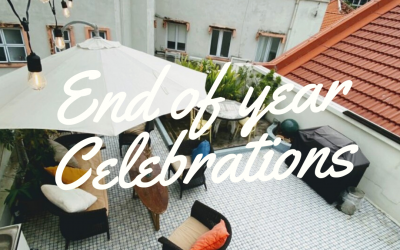 Charming and intimate spaces for gatherings during the end of year celebrations, during the pandemic.