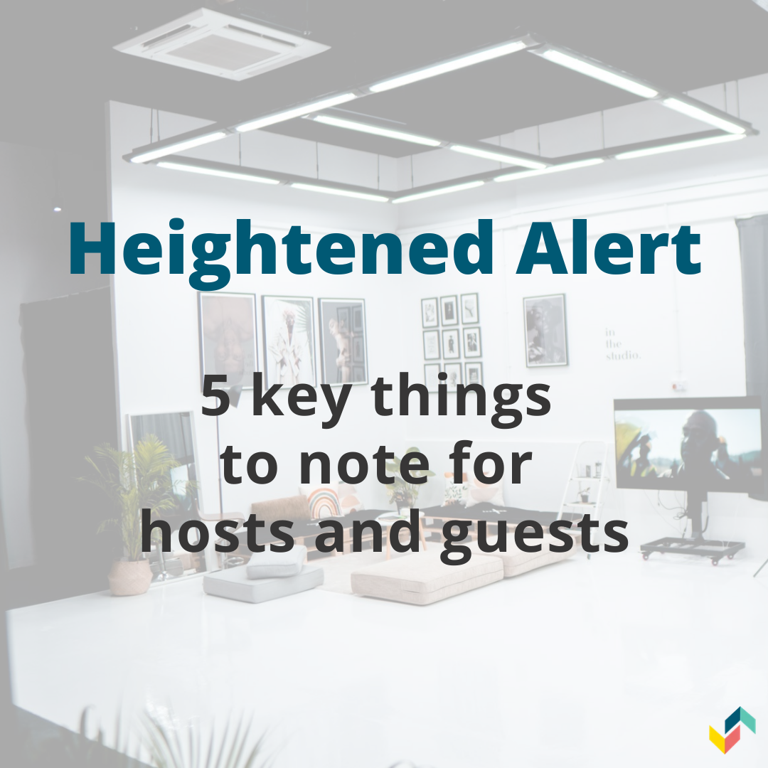 Phase 2 (Heightened Alert) – Updates for Space Owners